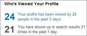 Many LinkedIn Profile Views
