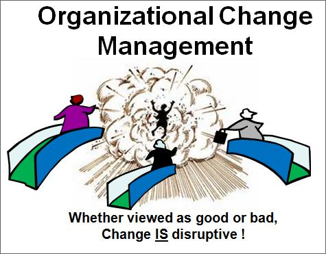 Change IS Disruptive, but Change Management Can Mitigate Impacts to Productivity