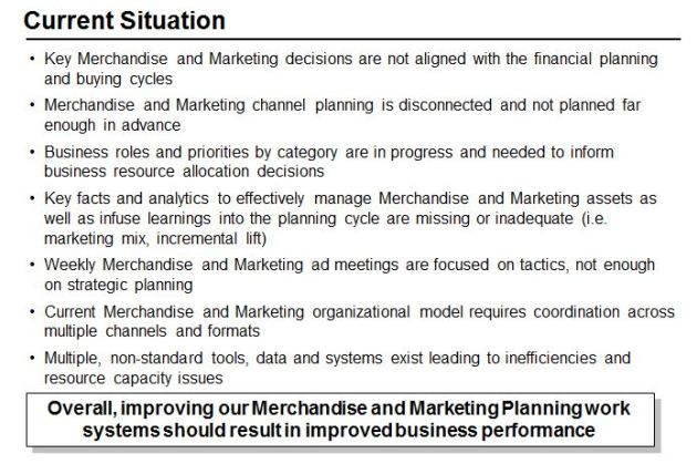 Assessment of Current Marketing Capabilities