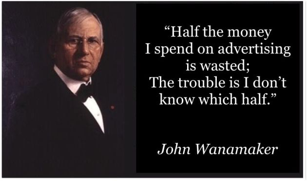 John Wanamaker & His Famous Marketing & Advertising Quote