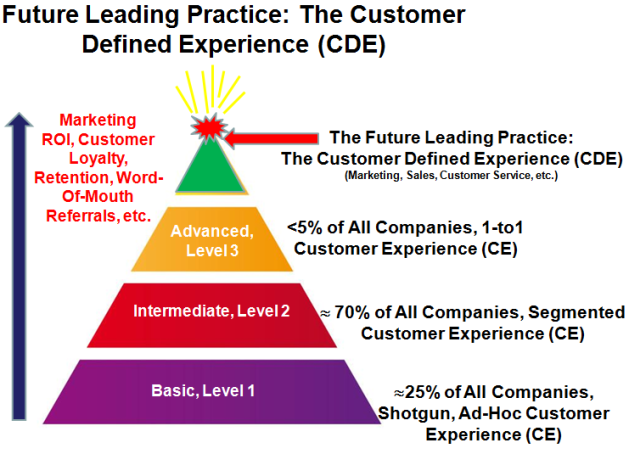 Future Leading Practice: The Customer Defined Experience