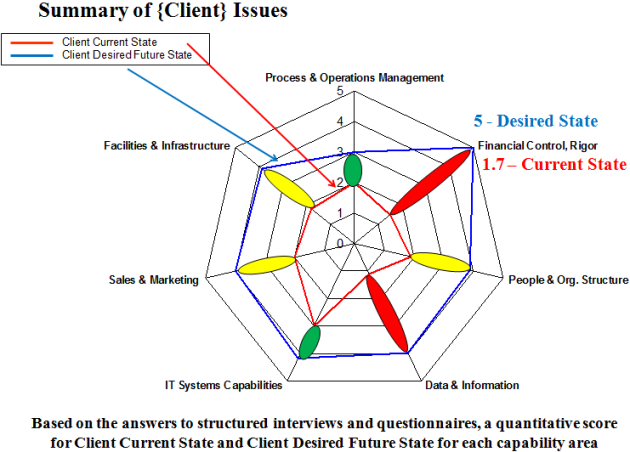 Sample Client Organizational Diagnostic Analysis Executive Summary