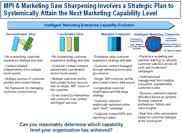 Marketing Capability Tier Evolution