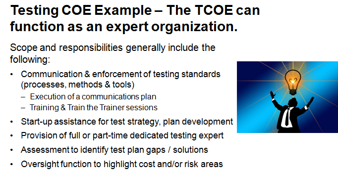 TCOE Expert Services Delivery