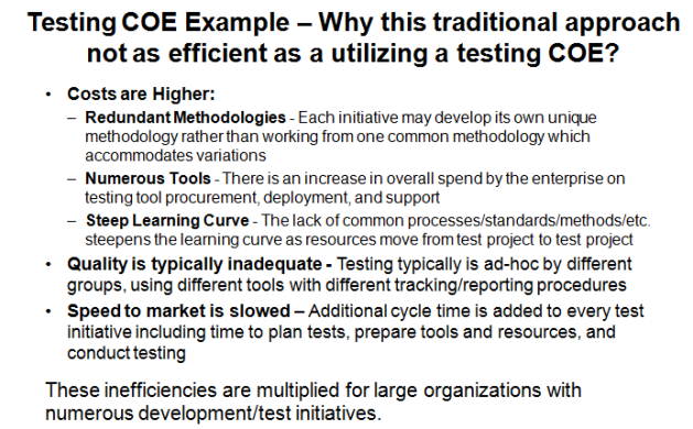 Inefficiencies of Traditional Testing Methods