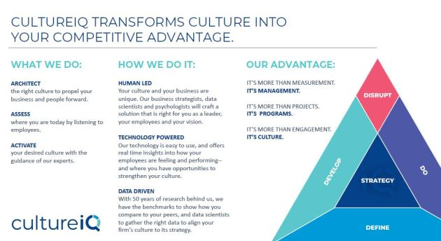 CultureIQ Approach Overview