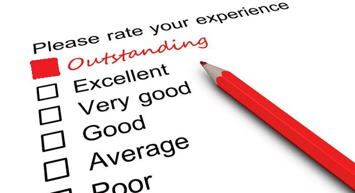 Only when you consistently achieve outstanding customer service ratings will you develop customer service into a competitive advantage