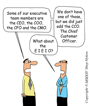 Chief Customer Officer Humor