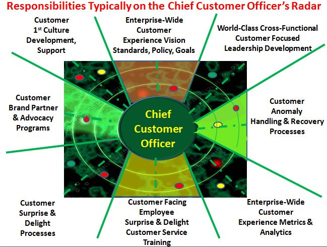 The Goals and Focus of the Chief Customer Officer | Stevenjeffes ...